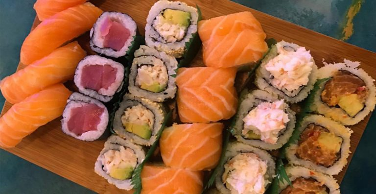 Qatch Open Sushi: Good quality but lacks variety